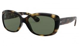 Ray-Ban RB4101 Jackie Ohh Sunglasses - Tortoise / Green