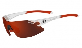 Tifosi Podium XC Sunglasses - Matte Crystal - Clarion Red + AC Red + Clear
