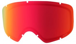 Anon Deringer Ski Goggle Replacement Lens - Sonar Red