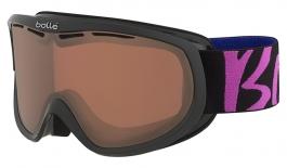 Bolle Sierra Ski Goggles - Black & Pink / Vermillon Gun