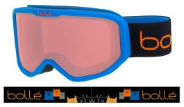 1d065b86af Bolle Inuk Ski Goggles - Matte Blue Animals   Vermillon