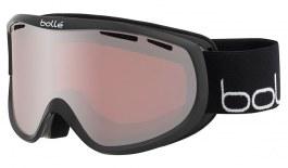 Bolle Sierra Ski Goggles - Shiny Black & White / Vermillon Gun