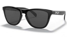 Oakley Frogskins Sunglasses - Polished Black / Grey
