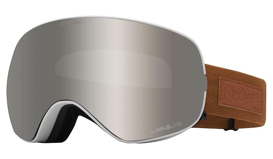 Dragon X2S Ski Goggles - Coyote / Lumalens Silver Ion + Lumalens Violet