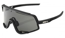 100% Glendale Sunglasses - Soft Tact Black / Smoke + Clear