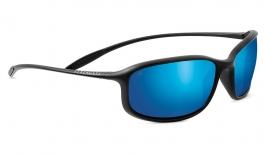 Serengeti Sestriere Sunglasses - Satin Black / 555nm Blue Polarised Photochromic