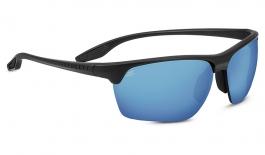 Serengeti Linosa Sunglasses - Sanded Dark Grey / 555nm Blue Polarised Photochromic