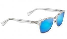 Maui Jim Kawika Sunglasses - Crystal / Blue Hawaii Polarised