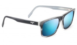 Maui Jim Waipio Valley Sunglasses - Blue Grey with Dove / Blue Hawaii Polarised