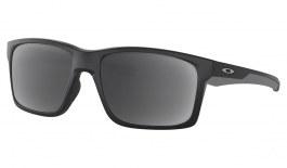 Oakley Mainlink XL Prescription Sunglasses - Matte Black (Satin Silver Icon)