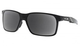 Oakley Portal X Prescription Sunglasses - Polished Black (Chrome Icon)