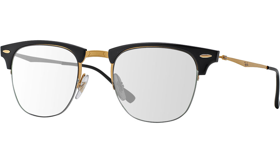 Ray Ban Clubmaster Transparent