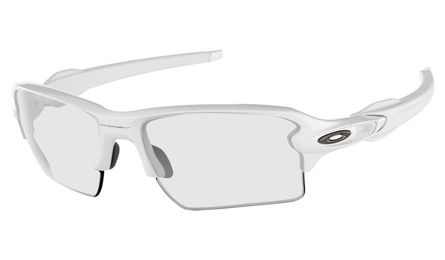 16aba990da2 Oakley Flak 2.0 XL Prescription Sunglasses. Colour  Polished White ...