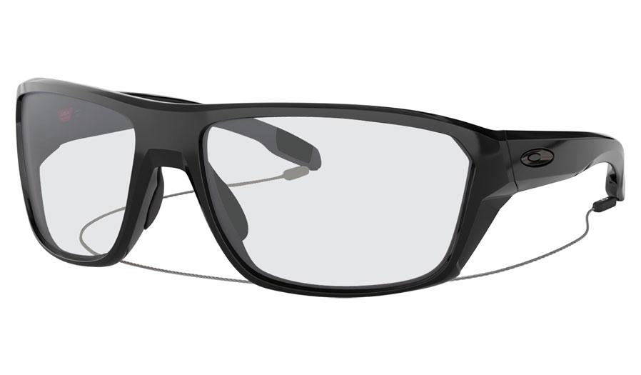 aac1545950 Oakley Split Shot Prescription Sunglasses - Polished Black - RxSport
