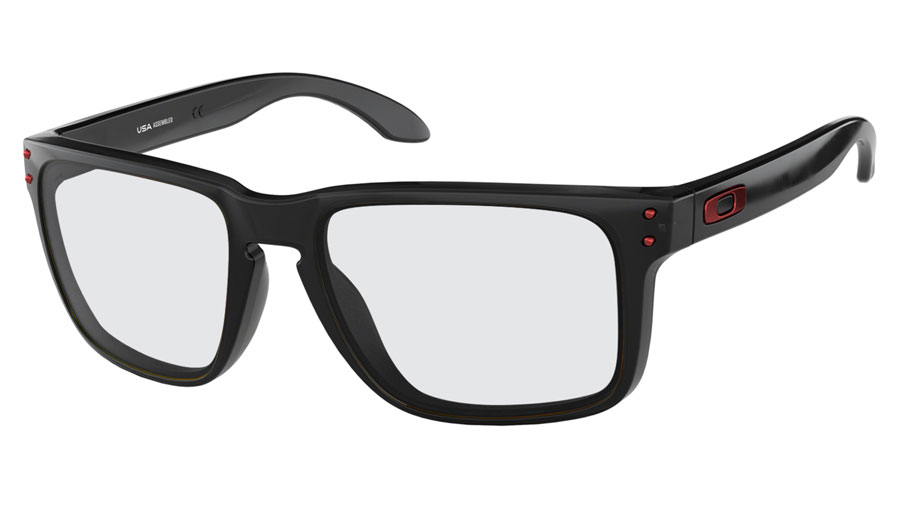 0d1754d788 Oakley Holbrook XL Prescription Sunglasses - Black Ink (Anodised Red Icon)