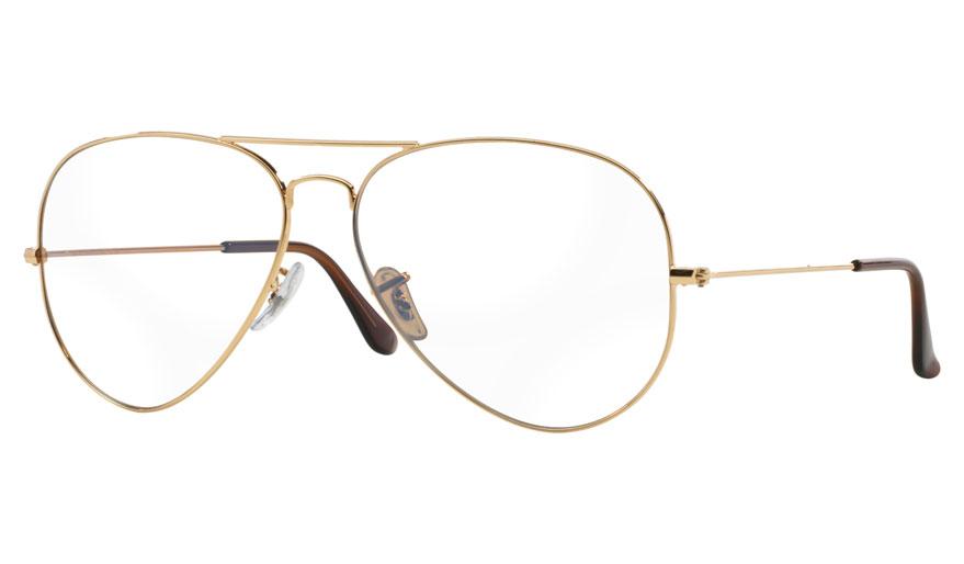 ray ban aviator prescription sunglasses uk  ray ban rb3025 aviator prescription sunglasses gold & brown