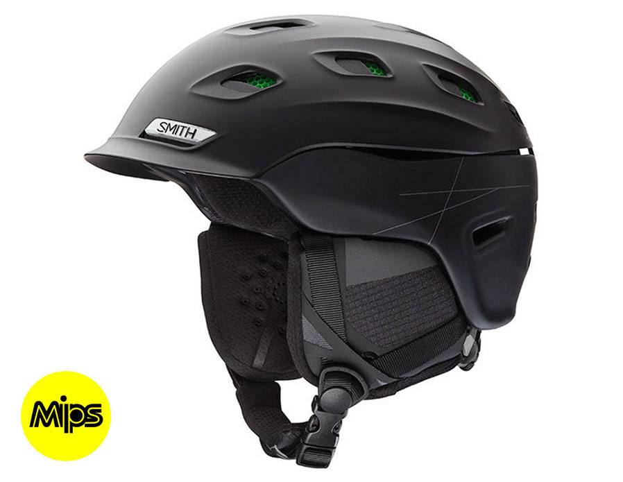 Smith Vantage Mips Ski Helmet Matte Black Rxsport