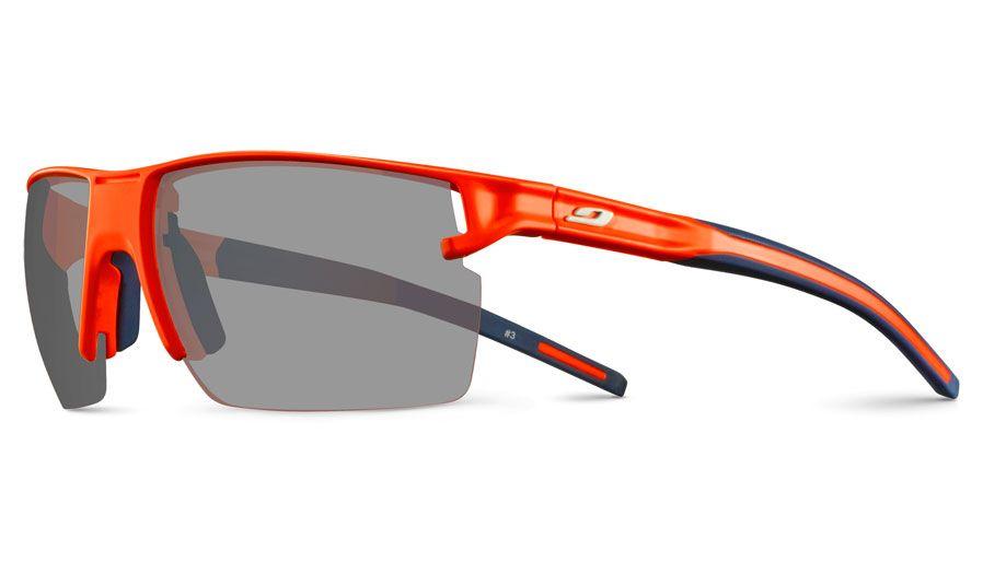 Julbo Outline Prescription Sunglasses - Directly Glazed - Matte Fluo Orange & Blue