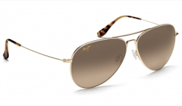 Maui Jim Mavericks Sunglasses - Gold / HCL Bronze Polarised