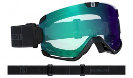 Salomon Cosmic Ski Goggles - Black / All Weather Blue Photochromic