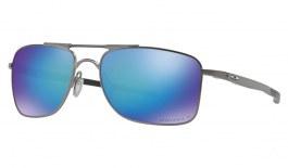 Oakley Gauge 8 Sunglasses - Matte Gunmetal / Prizm Sapphire Polarised