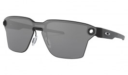 Oakley Lugplate Sunglasses - Satin Black / Prizm Black