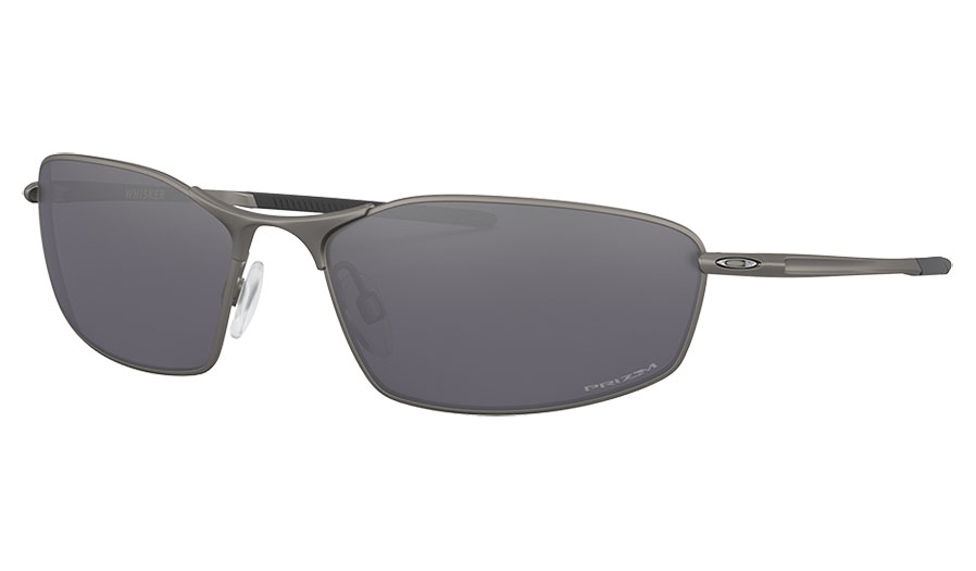 Oakley Whisker Sunglasses - Carbon / Prizm Black