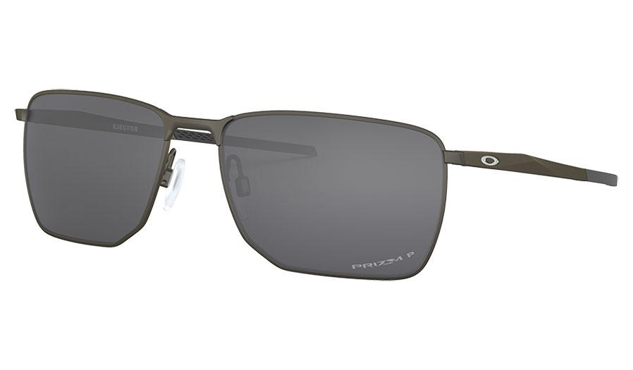 Oakley Ejector Sunglasses - Carbon / Prizm Black Polarised