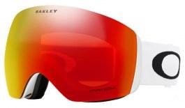 Oakley Flight Deck Ski Goggles - Matte White / Prizm Torch Iridium