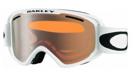 Oakley O Frame 2.0 XM Ski Goggles - Matte White / Persimmon