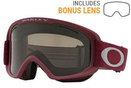 Oakley O Frame 2.0 XM Ski Goggles - Port Sharkskin / Dark Grey + Persimmon