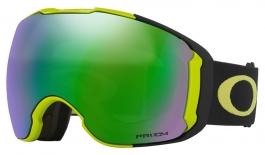 Oakley Airbrake XL Ski Goggles - Citrus Black / Prizm Jade Iridium + Prizm Rose
