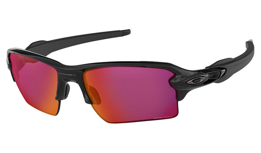 78295313eee60 Oakley Flak 2.0 XL Sunglasses - Polished Black   Prizm Field - RxSport