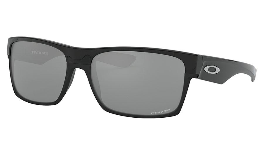 Oakley TwoFace Sunglasses - Polished Black / Prizm Black