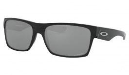 Oakley TwoFace Sunglasses - Polished Black / Prizm Black