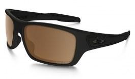 Oakley Turbine Sunglasses - Matte Black / Prizm Tungsten Polarised