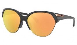 Oakley Trailing Point Sunglasses - Matte Black / Prizm Rose Gold Polarised