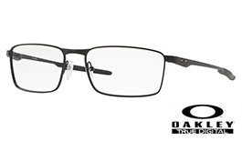 Oakley Fuller Prescription Glasses - Satin Black - Oakley Lenses