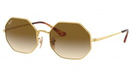 Ray-Ban RB1972 Octagon Sunglasses - Gold / Brown Gradient