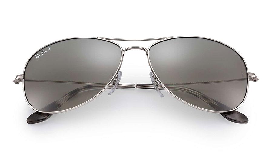 be0dc12ae7d04 Ray-Ban RB3562 Sunglasses - Silver   Silver Mirror Chromance Polarised
