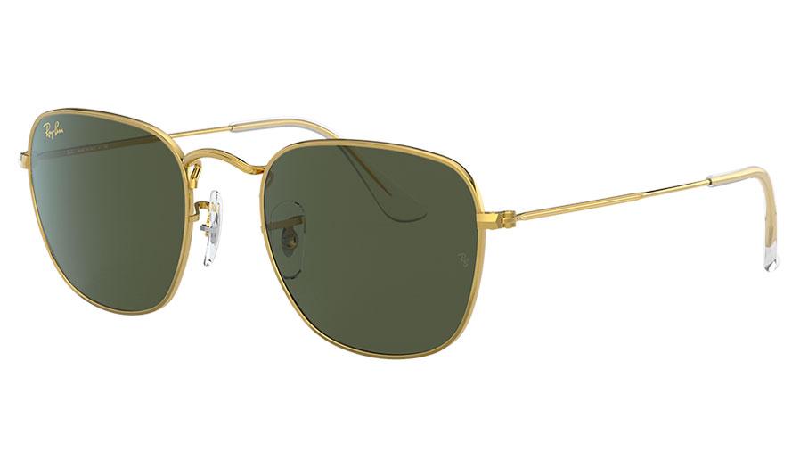 Ray-Ban RB3857 Frank Sunglasses - Legend Gold / Green