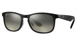 Ray-Ban RB4263 Chromance Sunglasses - Black / Silver Mirror Chromance Polarised