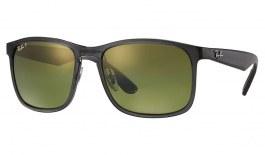 Ray-Ban RB4264 Sunglasses - Grey / Green Mirror Chromance Polarised