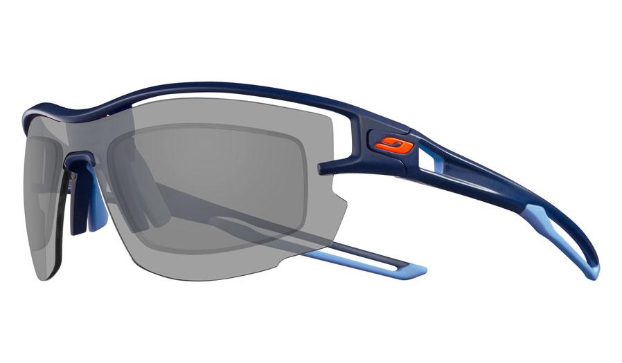 Julbo Aero Prescription Sunglasses - Directly Glazed - Matte Dark Blue