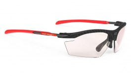 Rudy Project Rydon Sunglasses - Carbonium & Red / ImpactX 2 Photochromic Laser Red