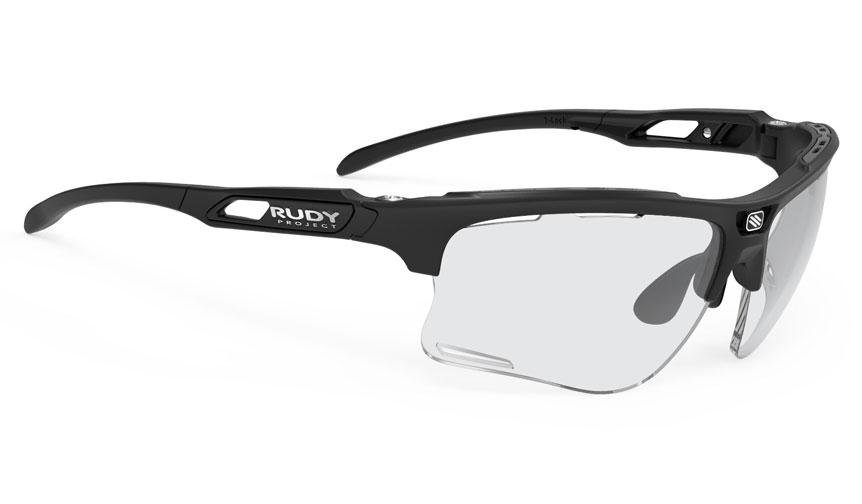 Rudy Project Keyblade Prescription Sunglasses - ImpactRX Directly Glazed - Matte Black