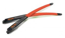 Oakley Crosslink Pitch Temple Kit - Gloss Grey Smoke & Orange