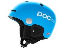 POC POCito Auric Cut SPIN Ski Helmet - Fluorescent Blue