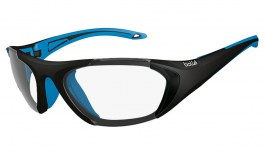 Bolle Field Glasses - Black & Blue / Clear