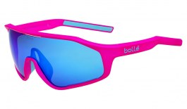 Bolle Shifter Sunglasses - Matte Pink / Brown Blue